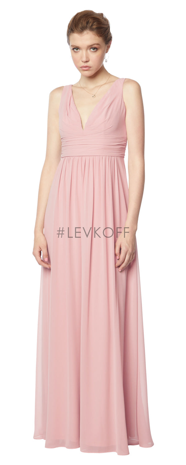 #LEVKOFF Bridesmaid Dress Style 7136 front