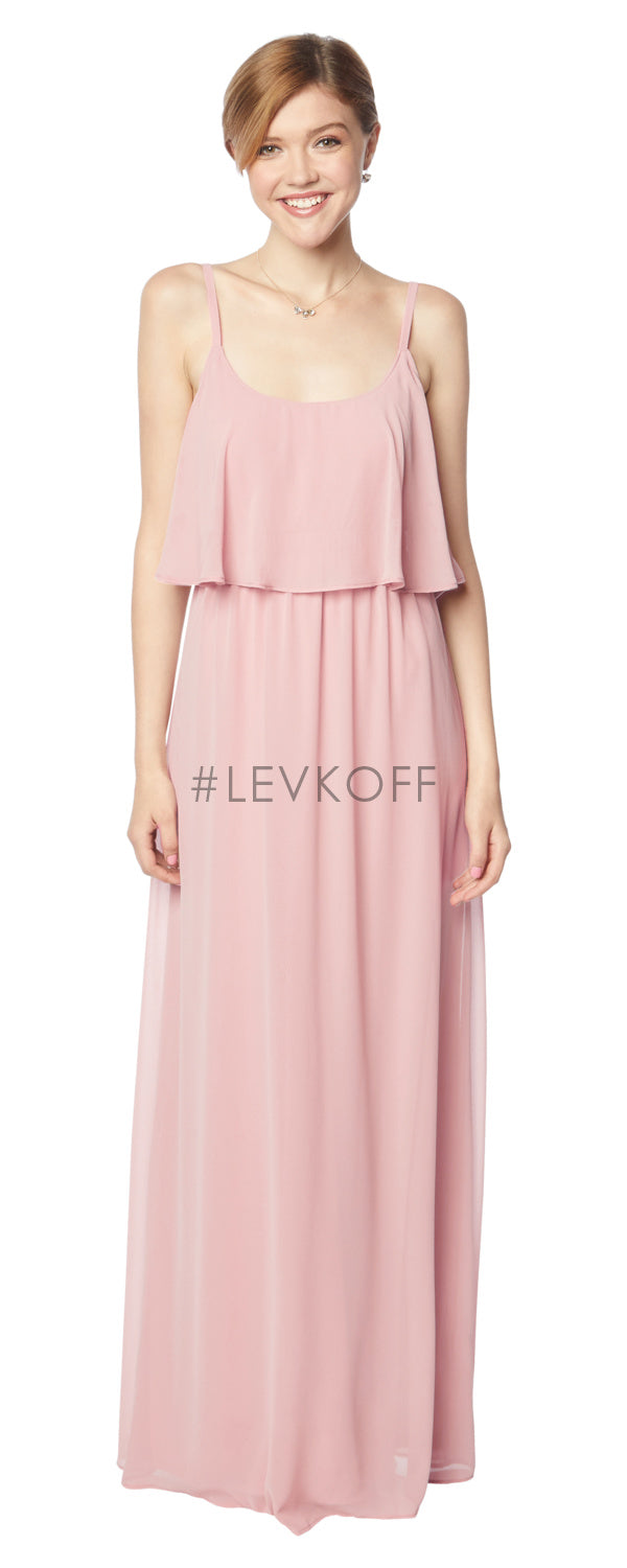 #LEVKOFF Bridesmaid Dress Style 7137 front