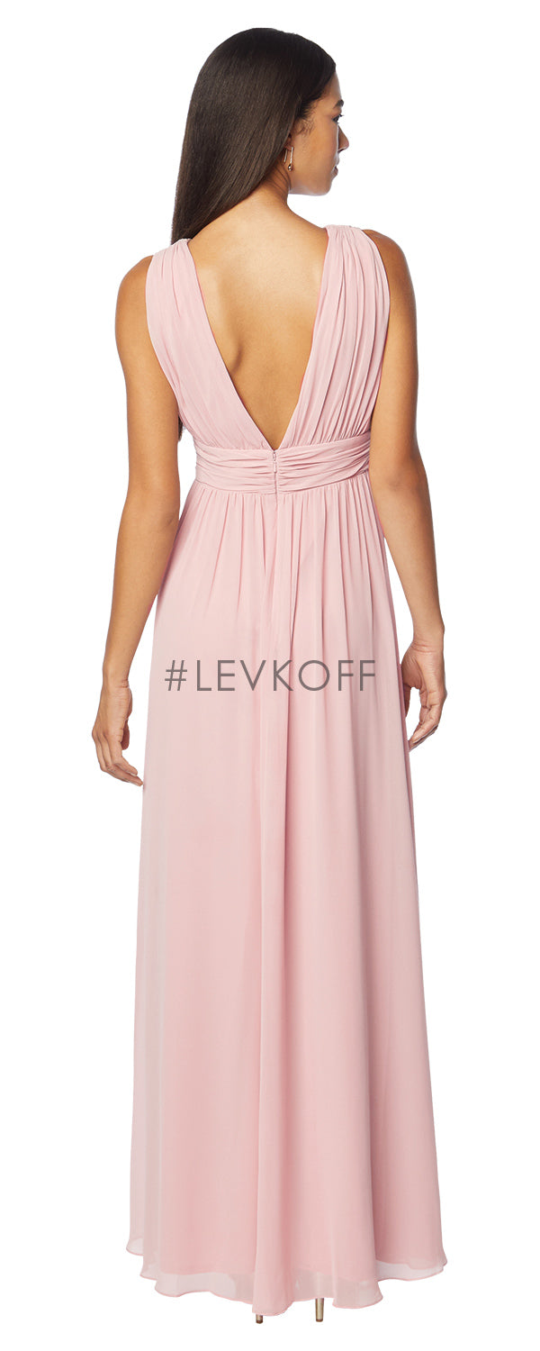 #LEVKOFF Bridesmaid Dress Style 7140 back
