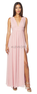 #LEVKOFF Bridesmaid Dress Style 7140 front
