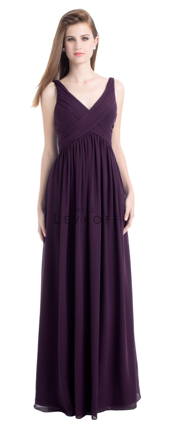Bill Levkoff Bridesmaid Dress Style 730 front