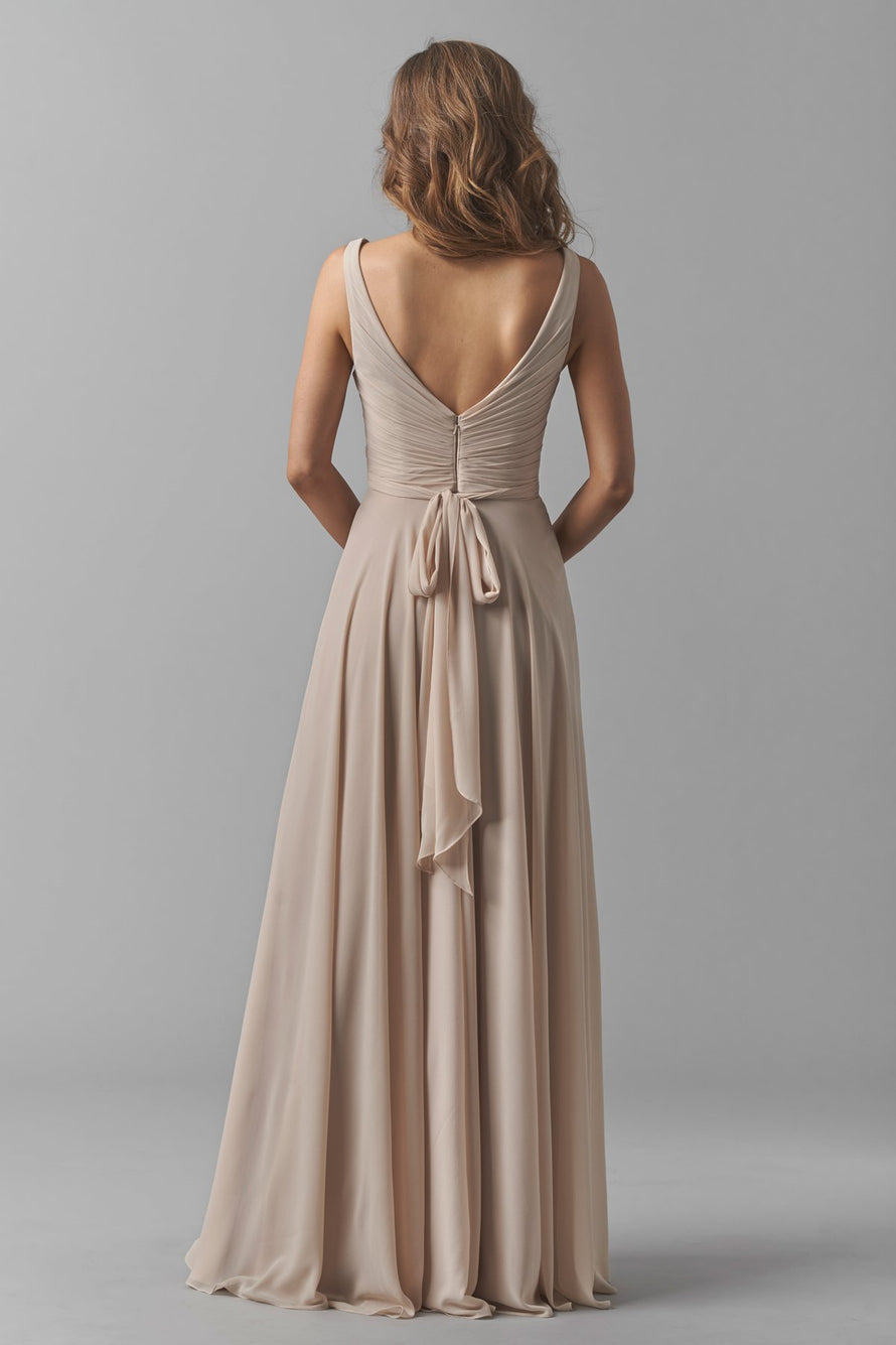 Watters Bridesmaid Dress Karen back