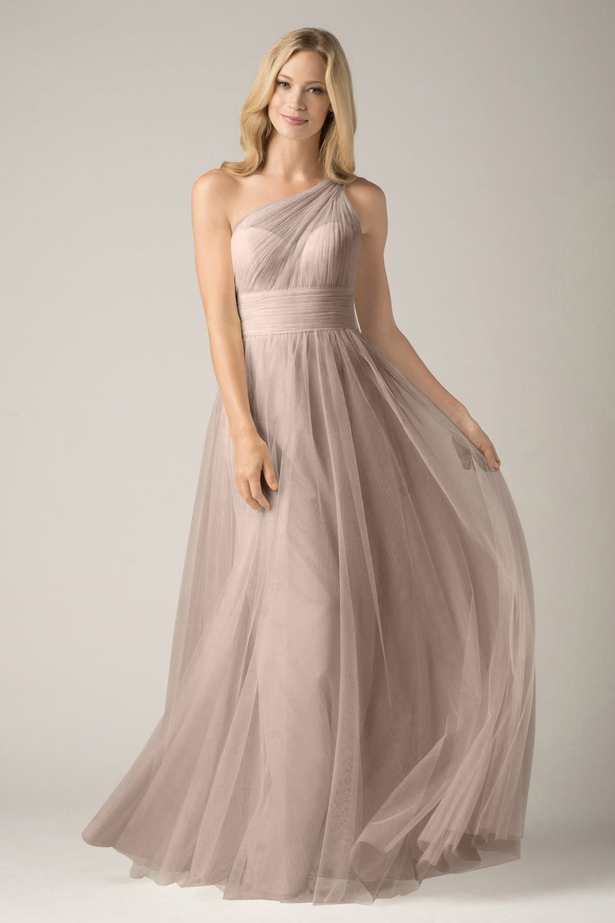 Wtoo by Watters Bridesmaid Dress Rue front