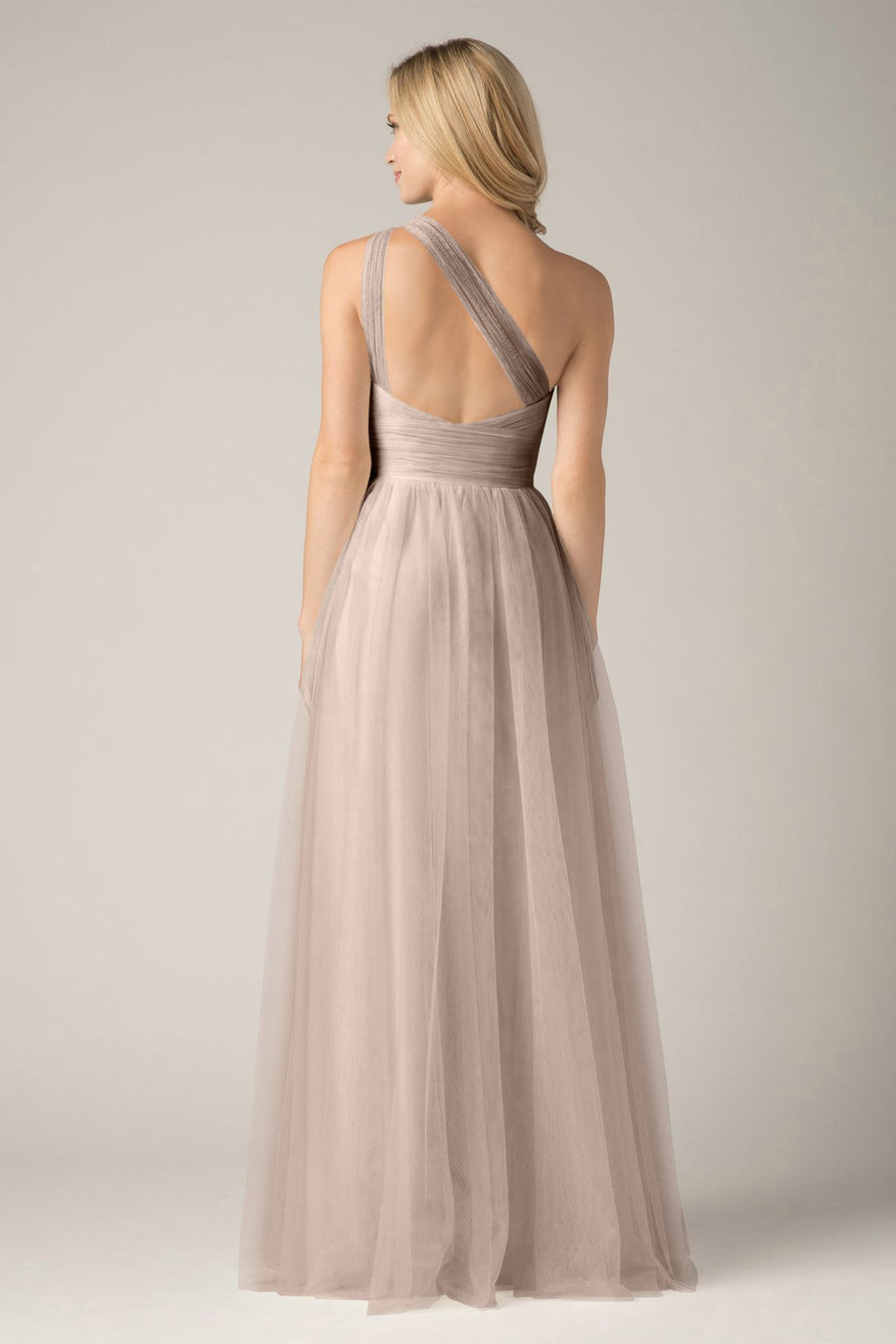 Wtoo by Watters Bridesmaid Dress Rue back