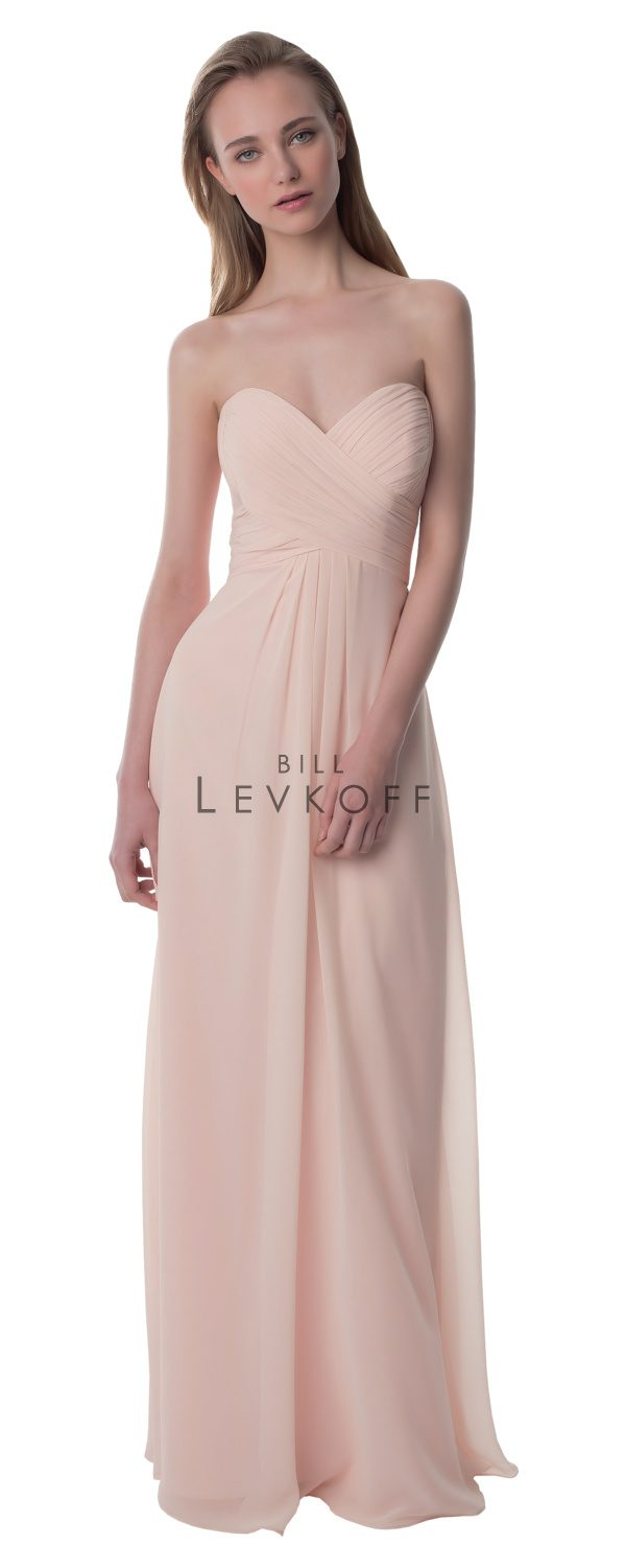 Bill Levkoff Bridesmaid Dress Style 976 front