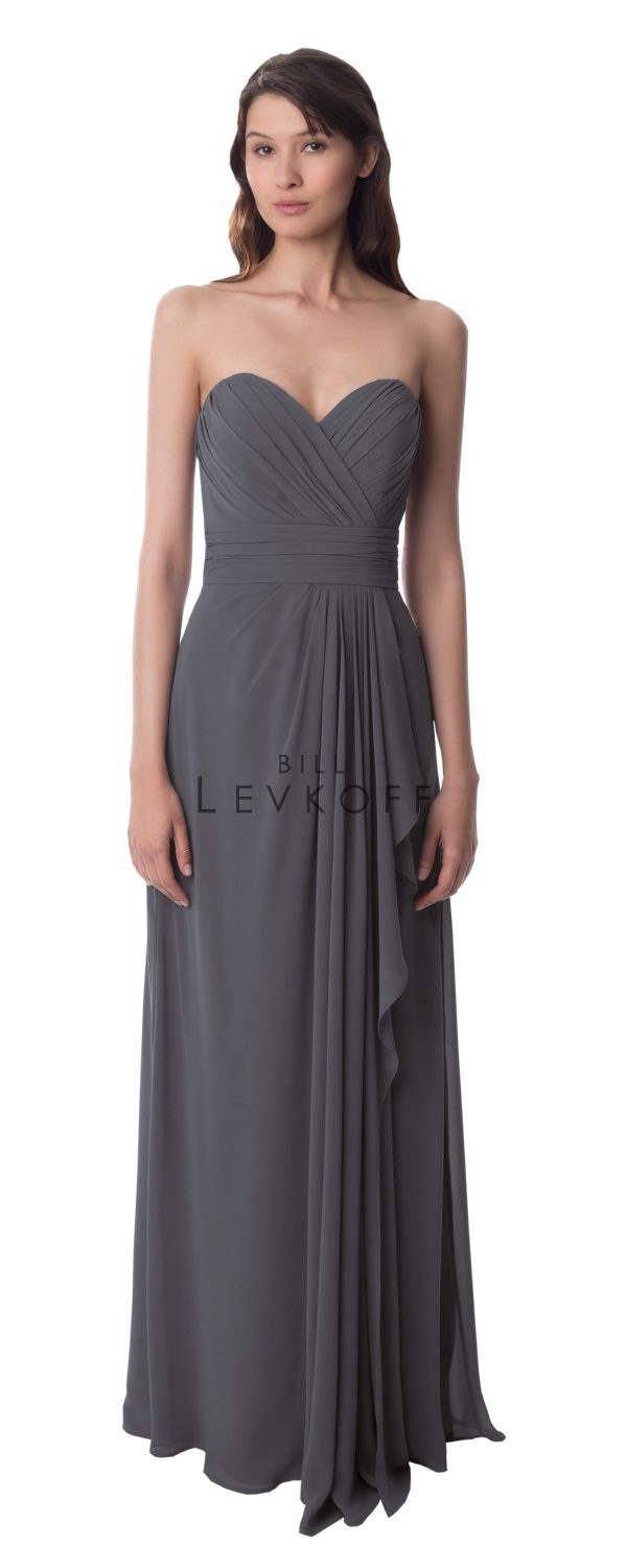 Bill Levkoff Bridesmaid Dress Style 978 front