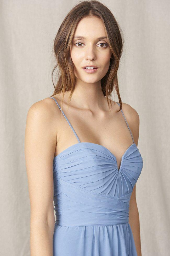 Amsale Long Bridesmaid Dress Bella Exclusive