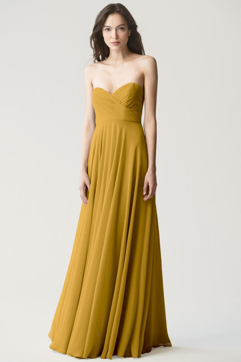 Marigold-Jenny Yoo Bridesmaid Dress Adeline