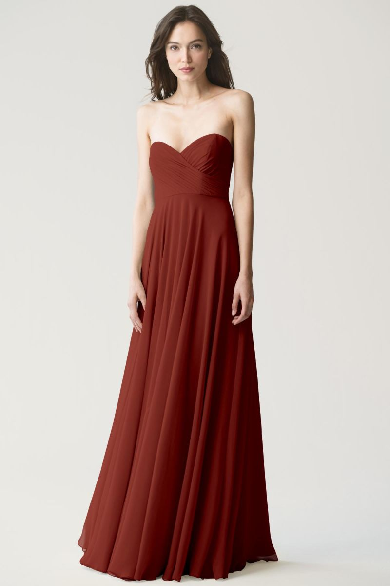 Adeline_rust Jenny Yoo Bridesmaid Dress Adeline