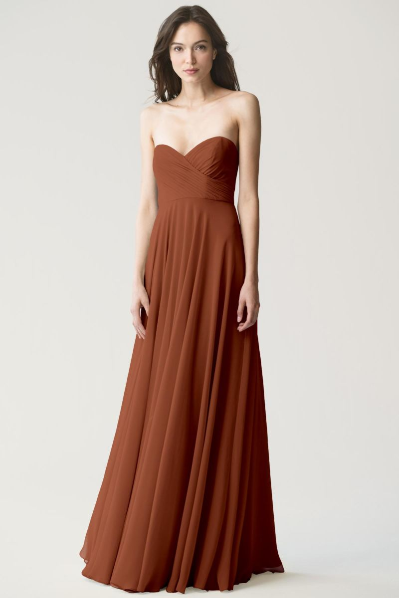 Adeline_terracotta Jenny Yoo Bridesmaid Dress Adeline