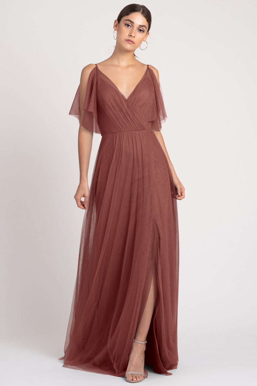Jenny Yoo Bridesmaid Dress Aeryn front