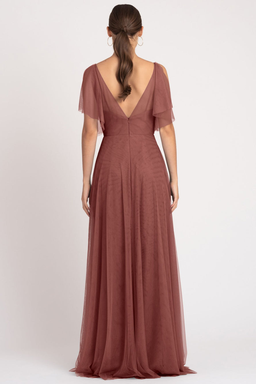 Jenny Yoo Bridesmaid Dress Aeryn back