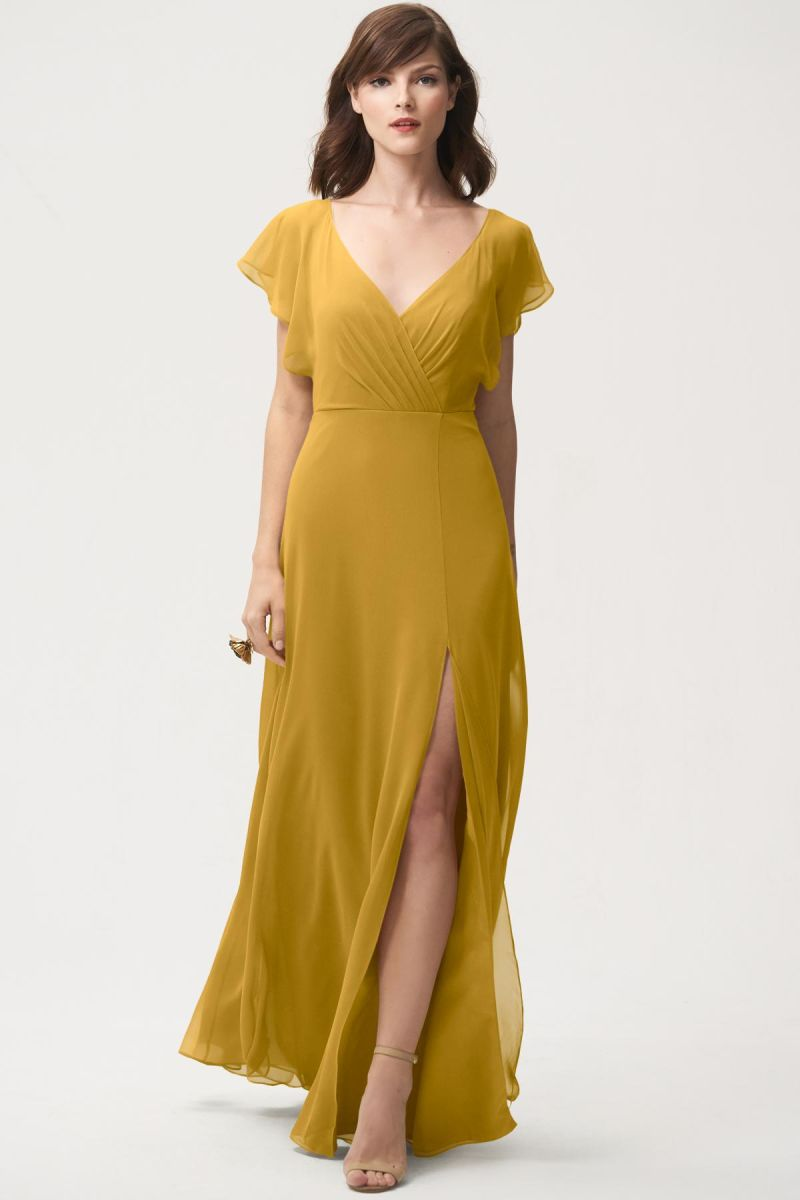 Marigold-Jenny Yoo Bridesmaid Dress Alanna