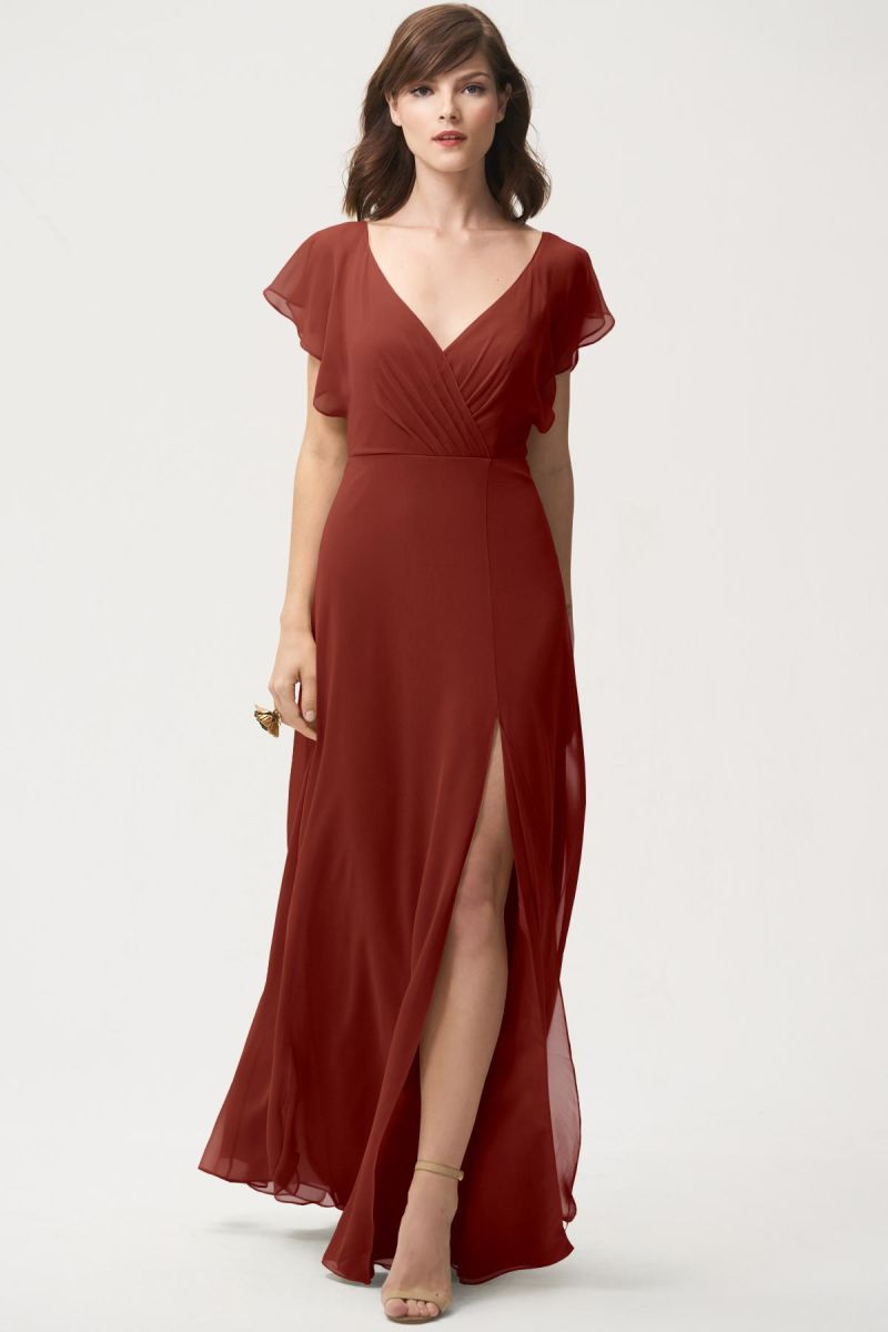 Rust-Jenny Yoo Bridesmaid Dress Alanna