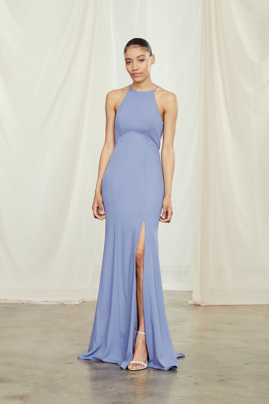 Amsale Long Bridesmaid Dress Ryland