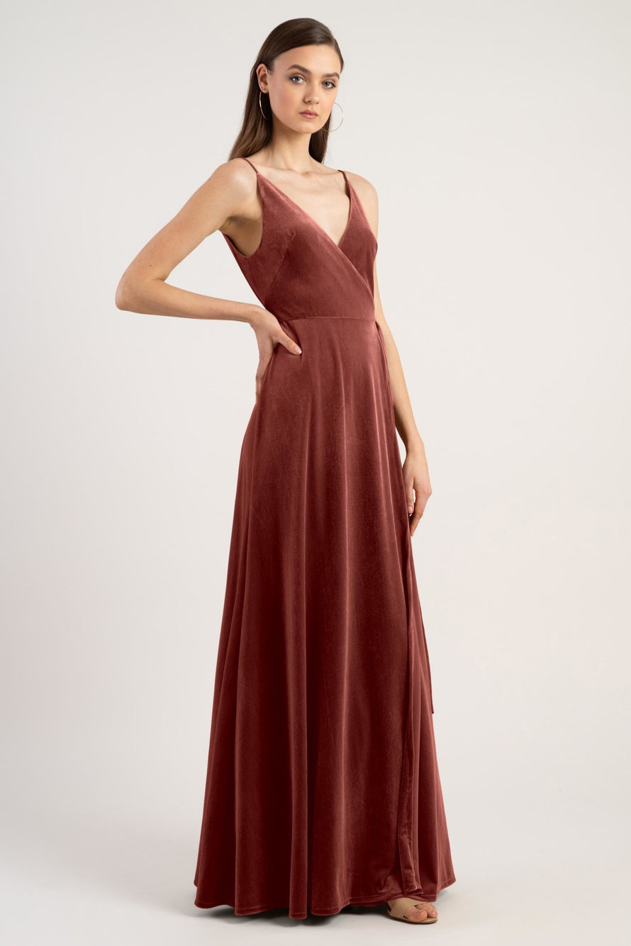 Jenny Yoo Long Bridesmaid Dress Andi