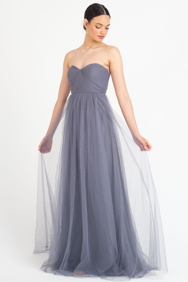 Jenny Yoo Convertible Bridesmaid Dress Annabelle front