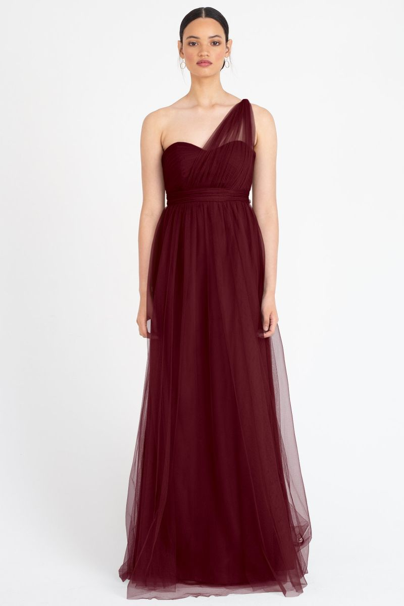 Cabernet-Jenny Yoo Convertible Bridesmaid Dress Annabelle