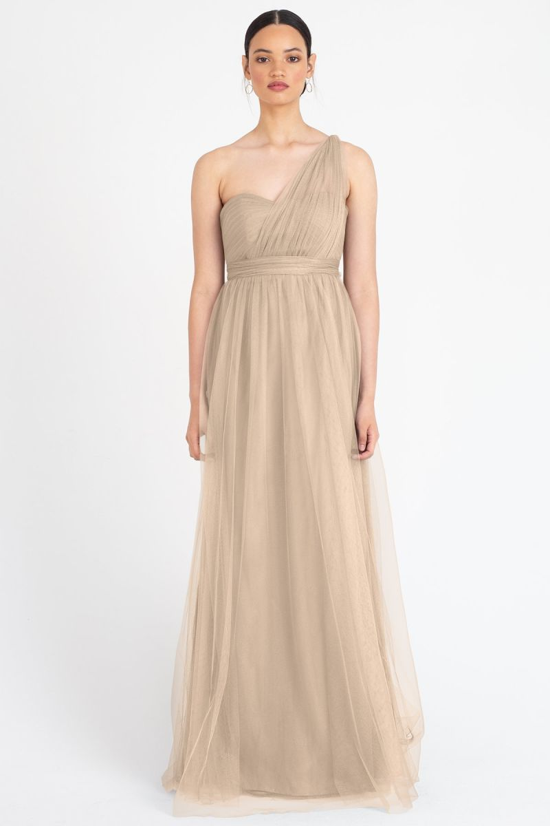 Sandstone-Jenny Yoo Convertible Bridesmaid Dress Annabelle
