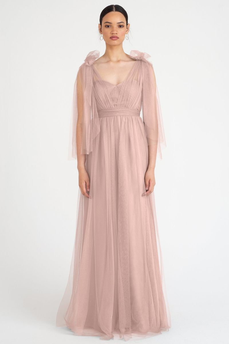 Whipped Apricot-Jenny Yoo Convertible Bridesmaid Dress Annabelle