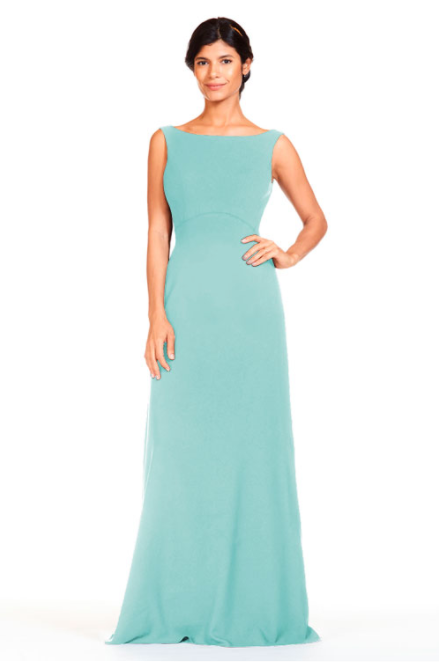 Bari Jay Bridesmaid Dress 1818 -ArcticBlue