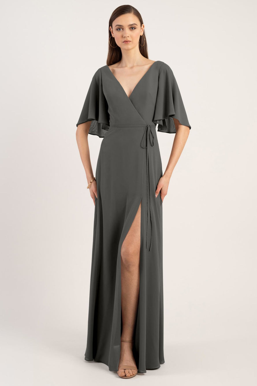Jenny Yoo Bridesmaid Dress Ari_charcoal