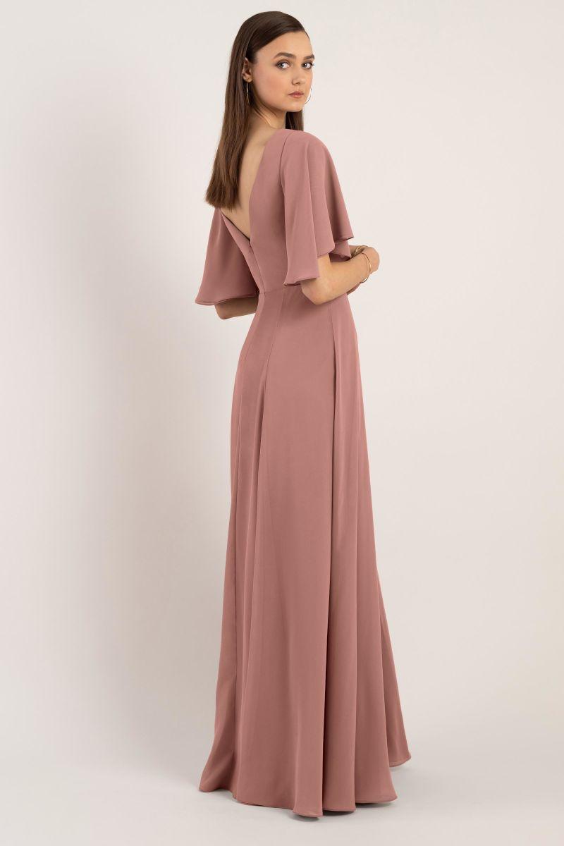 Jenny Yoo Bridesmaid Dress Ari back