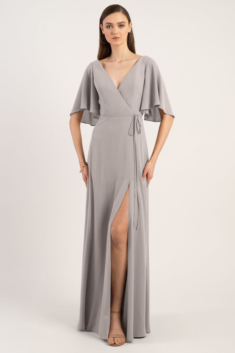 Opal-Grey-Jenny Yoo Bridesmaid Dress Ari