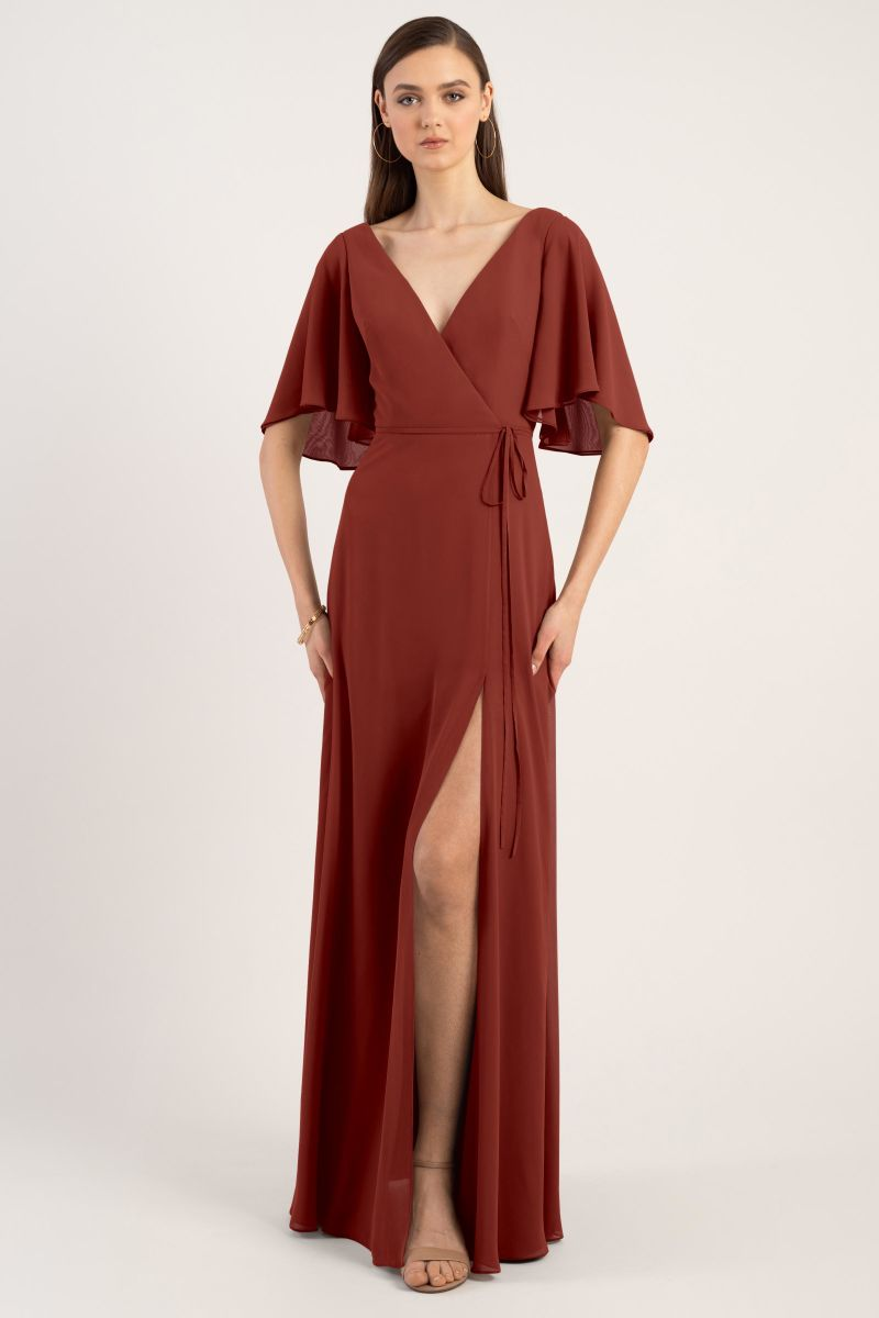Rust-Jenny Yoo Bridesmaid Dress Ari