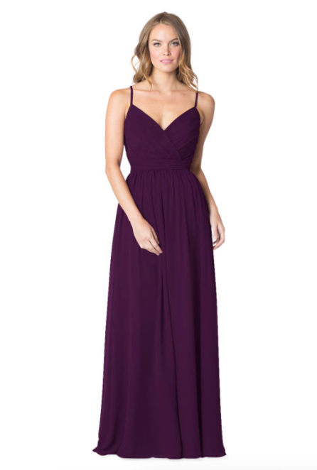 Bari Jay Bridesmaid Dress - 1606 IC-Aubergine
