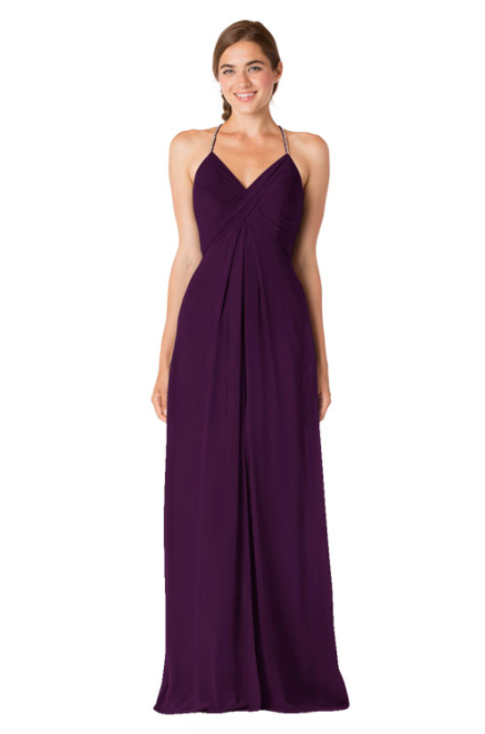 Bari Jay Bridesmaid Dress - 1723 IC-Aubergine