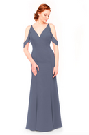 Bari Jay Bridesmaid Dress 1972 - AutumnGrey