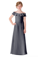 Bari Jay Junior Bridesmaid Dress - 1730(JR)-AutumnGrey
