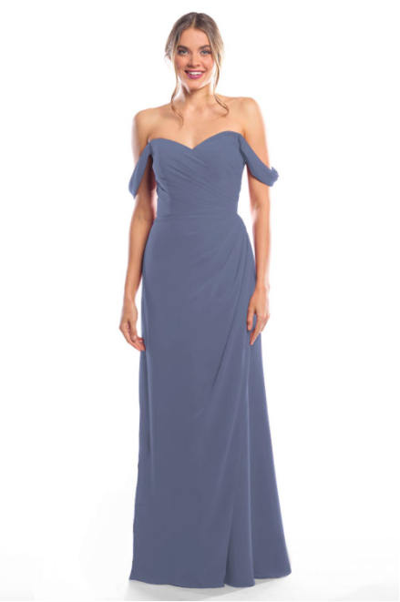 Bari Jay Bridesmaid Dress 2080 - AutumnGrey