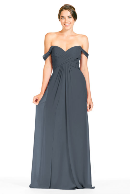 Bari Jay Bridesmaid Dress 1803 - AutumnGrey