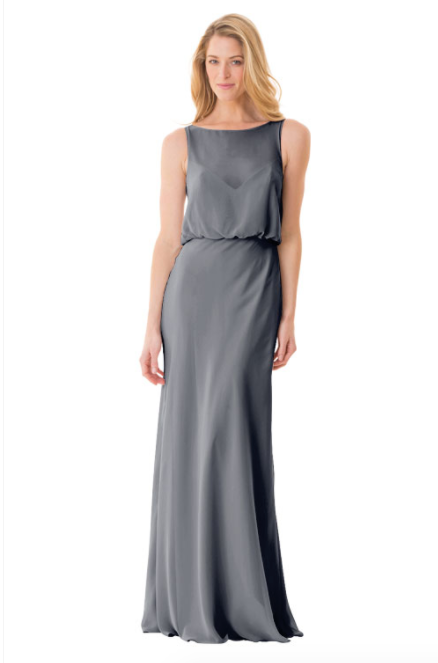 Bari Jay Bridesmaid Dress - 1661-AutumnGrey
