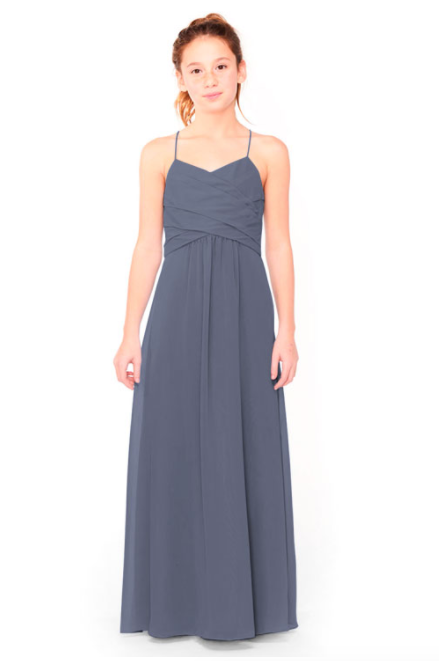 Bari Jay Junior Bridesmaid Dress 1962 - AutumnGrey
