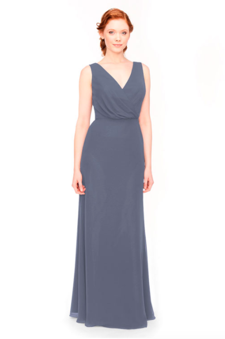 Bari Jay Bridesmaid Dress 1970 -AutumnGrey