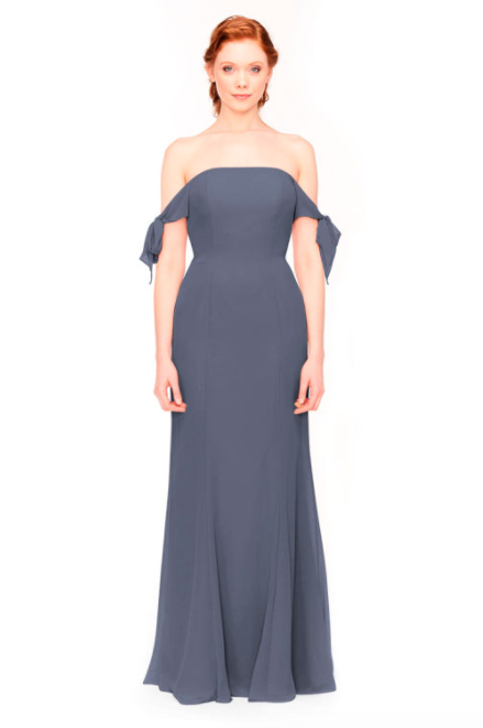 Bari Jay Bridesmaid Dress 1974 - AutumnGrey