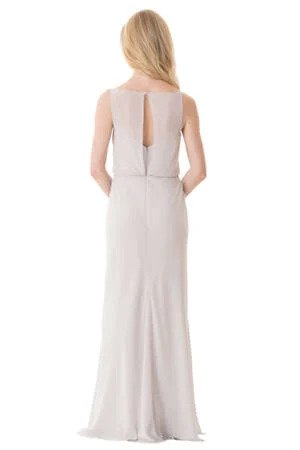 Bari Jay Bridesmaid Dress - 1661 back
