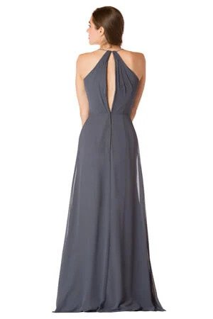 Bari Jay Long Bridesmaid Dress - 1723 IC back