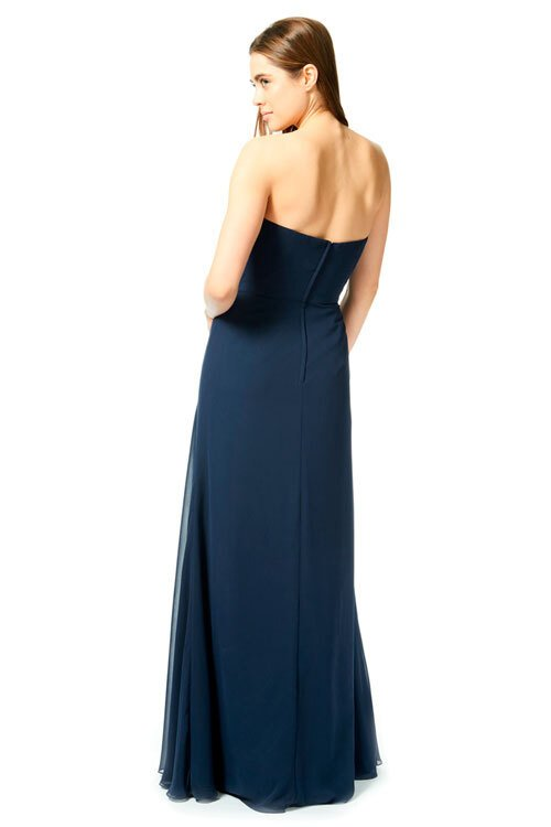 Bari Jay Long Bridesmaid Dress - 1870 back