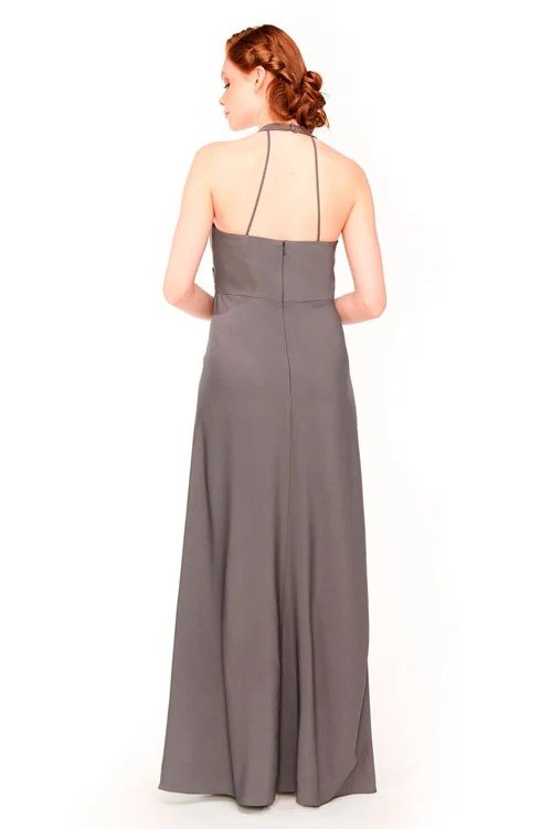 Bari Jay Maternity Bridesmaid Dress 1958 - back