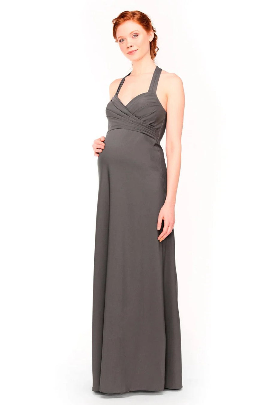 Bari Jay Maternity Bridesmaid Dress 1958 - front