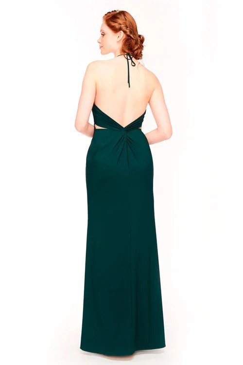 Bari Jay Bridesmaid Dress 1961 - back