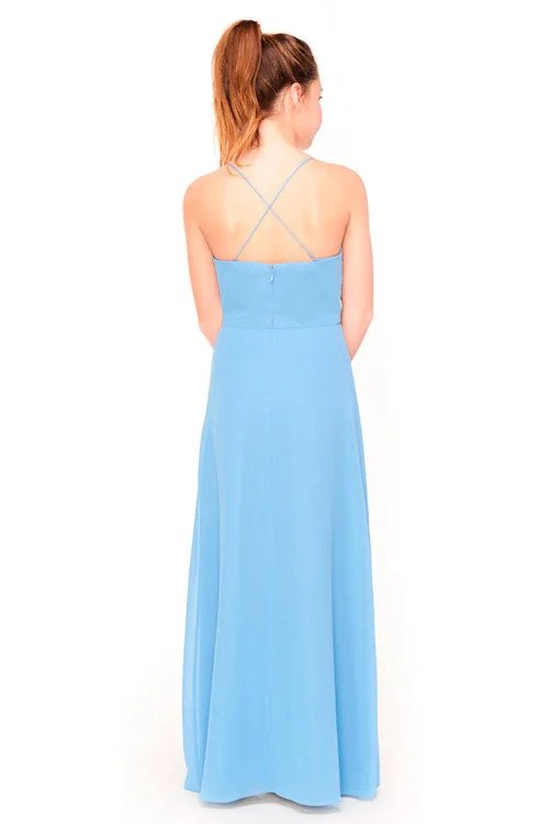 Bari Jay Junior Bridesmaid Dress 1962 -back