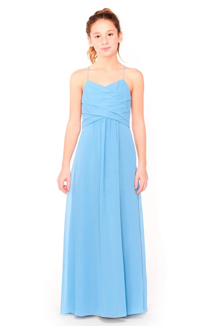 Bari Jay Junior Bridesmaid Dress 1962 -front