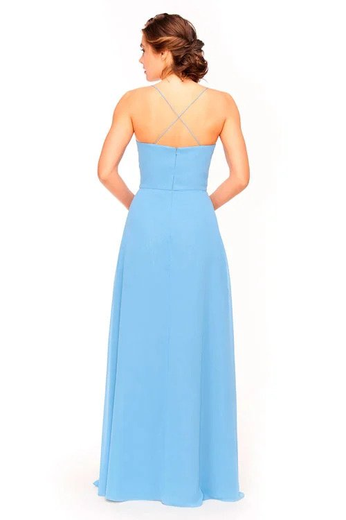 Bari Jay Bridesmaid Dress 1962 - back