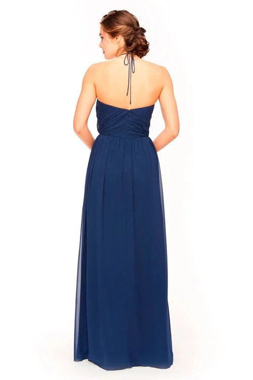 Bari Jay Bridesmaid Dress 1969 -back