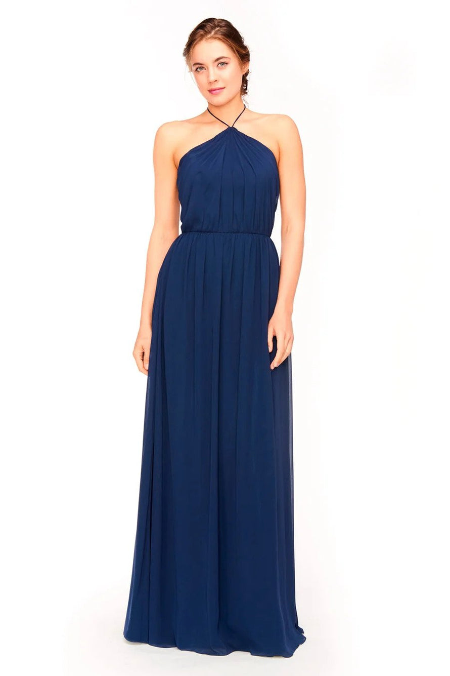 Bari Jay Bridesmaid Dress 1969 - front